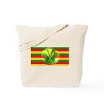 Old Hawaiian Flag Design Tote Bag