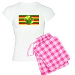 Old Hawaiian Flag Design Women's Light Pajamas