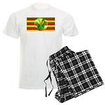 Old Hawaiian Flag Design Men's Light Pajamas