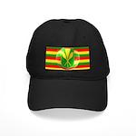 Old Hawaiian Flag Design Black Cap