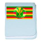 Old Hawaiian Flag Design baby blanket