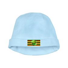 Old Hawaiian Flag Design baby hat