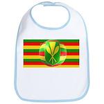 Old Hawaiian Flag Design Bib