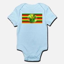 Old Hawaiian Flag Design Infant Bodysuit