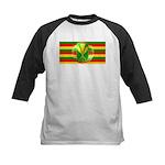 Old Hawaiian Flag Design Kids Baseball Jersey