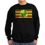 Old Hawaiian Flag Design Sweatshirt (dark)