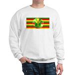 Old Hawaiian Flag Design Sweatshirt
