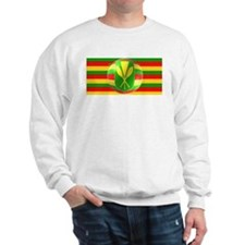 Old Hawaiian Flag Design Sweatshirt
