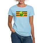 Old Hawaiian Flag Design Women's Light T-Shirt