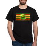 Old Hawaiian Flag Design Dark T-Shirt