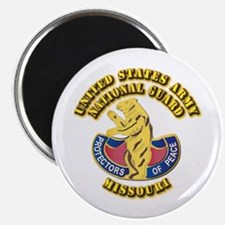 """Army National Guard - Missouri 2.25"""" Magnet (100 p"""