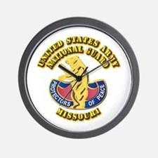 Army National Guard - Missouri Wall Clock