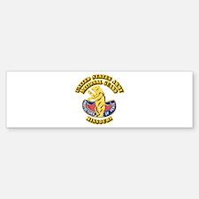Army National Guard - Missouri Bumper Bumper Sticker