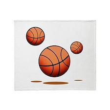 Basketball (c) Throw Blanket