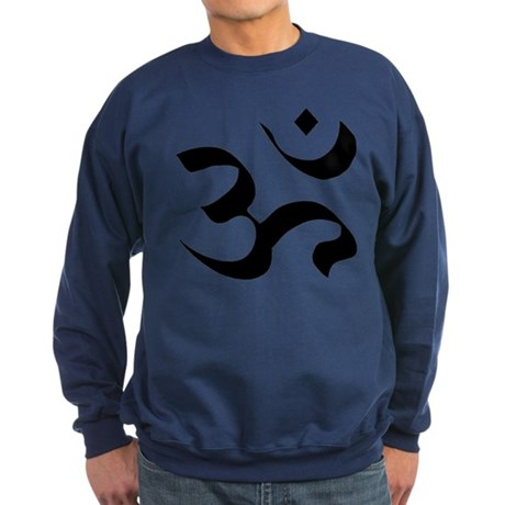 Om Meditation Symbol Sweatshirt (dark)