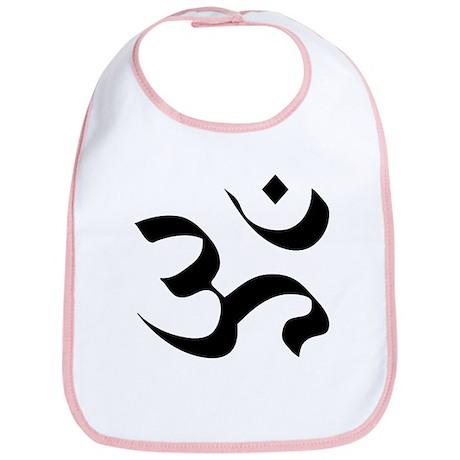 Om Meditation Symbol Bib