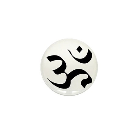 Om Meditation Symbol Mini Button (10 pack)