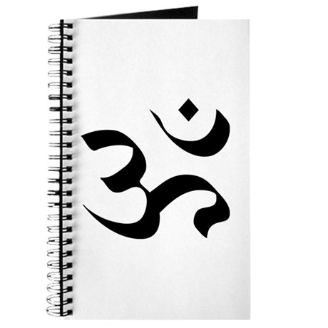 Om Meditation Symbol Journal