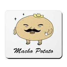 Tough Guy Macho Potato Mousepad