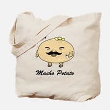 Tough Guy Macho Potato Tote Bag