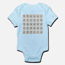 Arabic Alphabet LATEST Infant Bodysuit