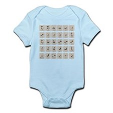 Arabic Alphabet LATEST Onesie