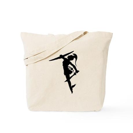 Perseus Silhouette Tote Bag