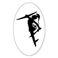 Perseus Silhouette Decal