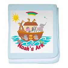Noah's Ark - baby blanket