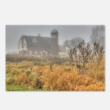 Foggy Barn Postcards (Package of 8)