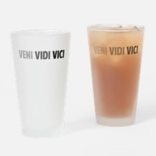 Veni Vidi Vici Drinking Glass