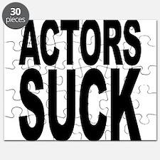 Actors Suck Puzzle