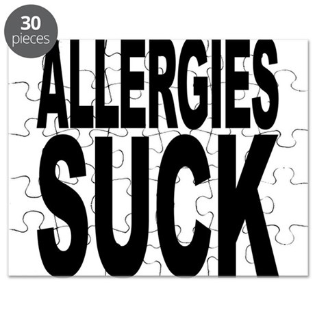 Allergies Suck Puzzle