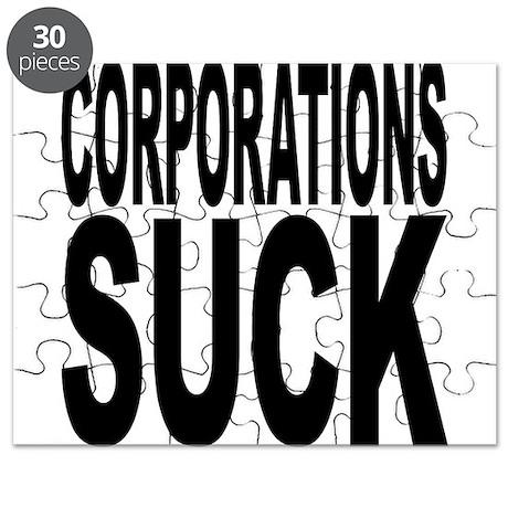 Corporations Suck Puzzle