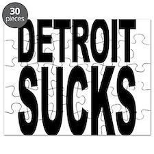 Detroit Sucks Puzzle