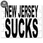 New Jersey Sucks Puzzle