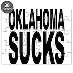 Oklahoma Sucks Puzzle