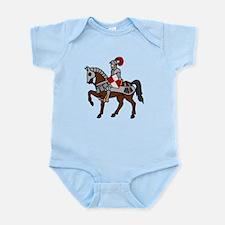 Knight Mounted On Horse Infant Bodysuit