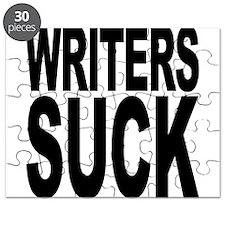 Writers Suck Puzzle