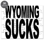 Wyoming Sucks Puzzle