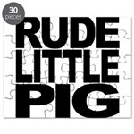 Rude Little Pig Puzzle