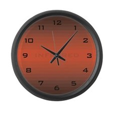Infrared Large Wall Clock