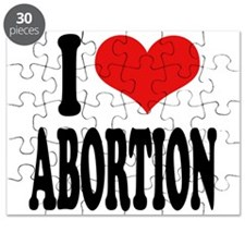 I Love Abortion Puzzle