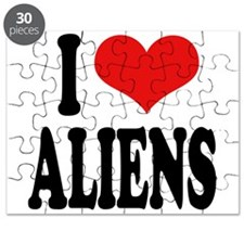 I Love Aliens (word) Puzzle