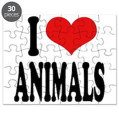 I Love Animals Puzzle