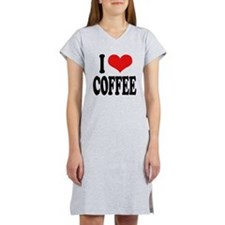 I Love Coffee Women's Nightshirt