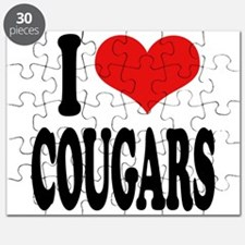 I Love Cougars Puzzle