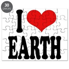 I Love Earth (word) Puzzle