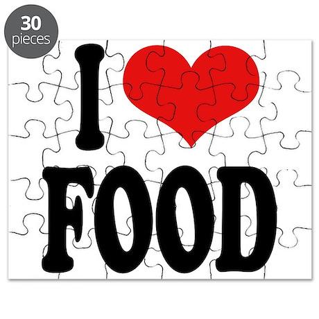 I Love Food Puzzle