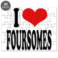 I Love Foursomes Puzzle